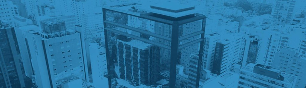 Banner Superior do site, mostrando o prédio da clínica, utilizado no Slider Revolution