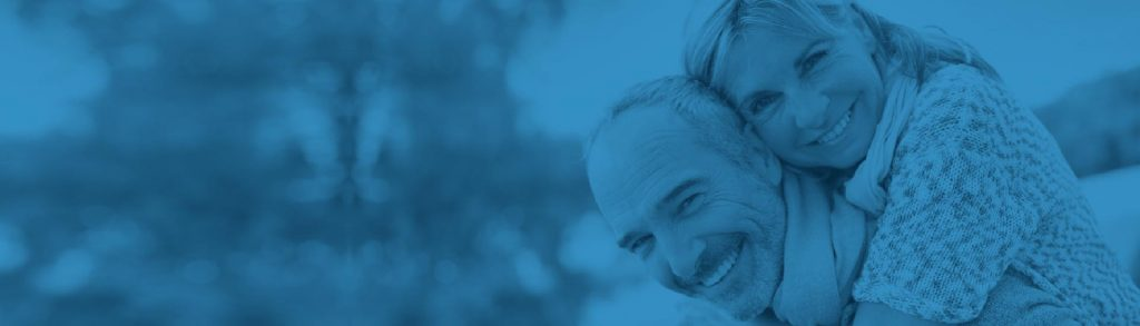 Banner Superior do site, mostrando um casal feliz, utilizado no Slider Revolution